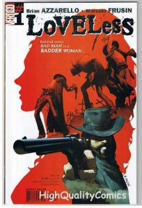 LOVELESS #1, NM+, Civil War, Brian Azzarello, 2005, more Vertigo in store
