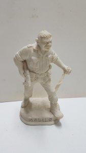 Figura Resina El Sargento Gorila (figura a pintar por el comprador, rota dela...