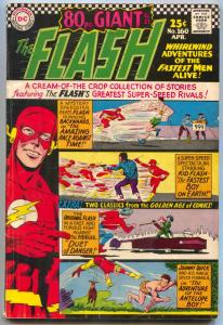 FLASH #160 GIANT JOHNNY QUICK BEATNIKS KID FLASH   1966 VG/FN