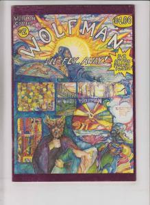 Wolfman Comix #2 FN (1st) print - underground comix - 1977 52 pages werewolf