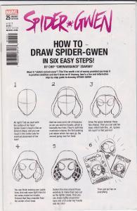 Spider-Gwen #25 variant cover