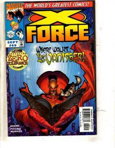 Lot Of 10 X-Force Marvel Comic Books # 66 67 68 69 70 71 72 73 74 75 Domino JD4