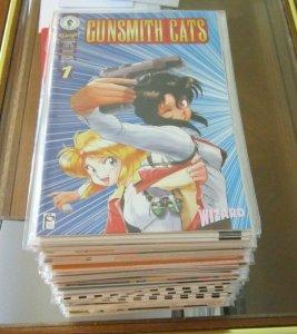 Gunsmith Cats (Lot of 60 Comics) See Listing For Details Dark Horse Manga Anime