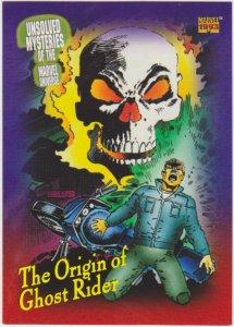 1993 Marvel Universe #139 Origin of Ghost Rider