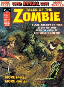 Tales of The Zombie Annual #1 (ungraded) stock photo