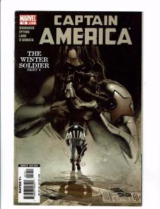 Captain America # 12 FN 1st Print Marvel Comic Book Winter Soldier Part 4 J121