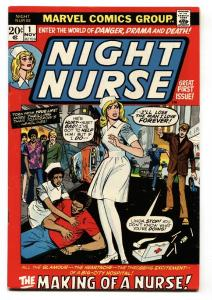 Night Nurse #1 comic book 1973 - Marvel Bronze Age- FN/VF