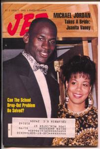 Jet 10/9/1989-Johnson Pub-Michael Jordan-pix-info-African Americans-VG