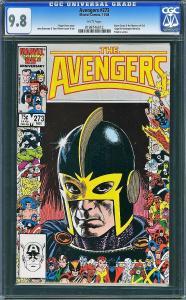 Avengers #273 (Marvel, 1986) CGC 9.8 - HIGHEST GRADED!