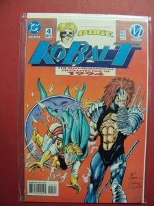 KOBALT #4   VF/NM OR BETTER DC COMICS