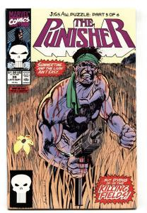 Punisher #39 1990 Marvel Jigsaw issue-comic book