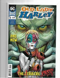 OLD LADY HARLEY QUINN #5 NM/NM+ JOKER SON FEB 2019 SOLD OUT DC