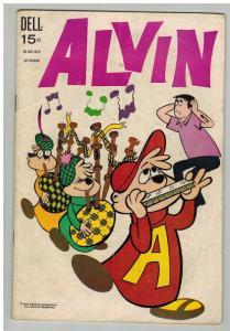 ALVIN (1962-1973 DELL) 20 G-VG October 1969
