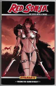 Red Sonja She Devil TPB Vol 8 Blood Dynasty | Renaud Cvr (Dynamite, 2009) New!