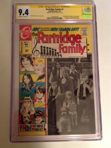 CGC SS 9.4 Partridge Family #1 signed by Shirley Jones 1971 Charlton not 9.8