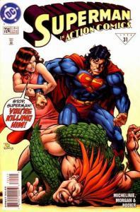 Action Comics (1938 series) #724, NM- (Stock photo)