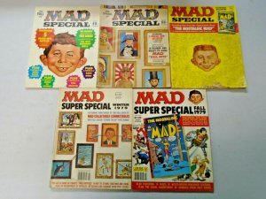 MAD Magazine Specials + Annuals Lot 10 Different (1970-1980)