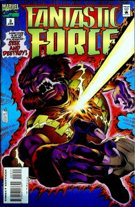 Fantastic Force #3 (1995)