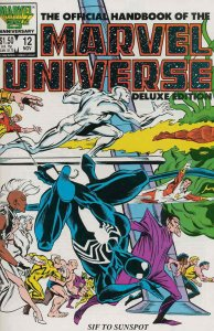 Official Handbook of the Marvel Universe (Vol. 2) #12 FN; Marvel   save on shipp
