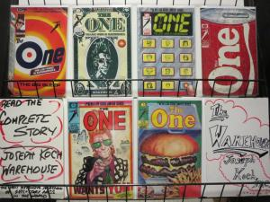 ONE, THE (1985 EPIC) 1-6  R.Veitch...Andy Warhol?