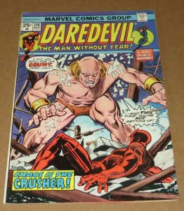 Daredevil #119 FN- 1975 Marvel Bronze Age Comic Book Chaos Crusher Gil Kane Cvr