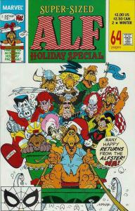 ALF #2, VF/NM, Holiday Special, Marvel,  1988 1989 more in store