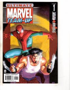 Lot Of 7 Ultimate Marvel Team-Up Comic Books # 1 2 3 4 5 6 7 Spider-Man GM13