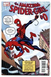 AMAZING SPIDER-GIRL #0 Amazing Fantasy #15 cover swipe 2006