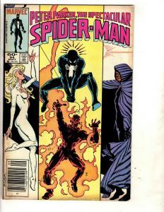 10 Peter Parker, The Spectacular Spiderman Marvel Comics # 94 95 96 97 + J334