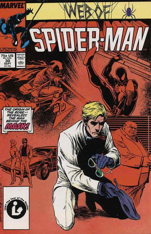Web of Spider-Man, The #30 VF; Marvel | save on shipping - details inside