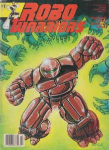 Robo Warriors #7 VF; CFW | save on shipping - details inside