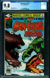 Man-Thing v.2  #2  CGC 9.8 Marvel comics-2038908016