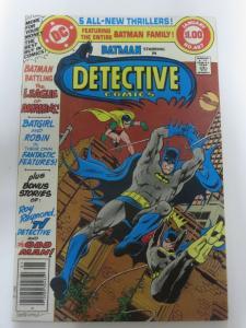 DETECTIVE 487 FINE Jan. 1980 COMICS BOOK
