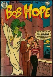 ADVENTURES OF BOB HOPE #25 1954-DC COMICS-VOO DOO G