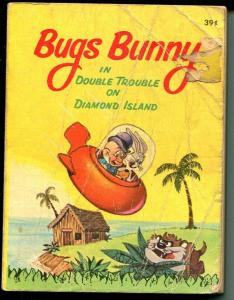 Bugs Bunny -Whitman #5757-1967-BLB-Double Trouble on Diamond Island-VG