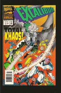 Marvel Comics Excalibur Annual #1 (1993)