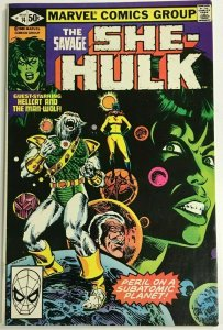SAVAGE SHE-HULK#14 VF 1981 MARVEL BRONZE AGE COMICS
