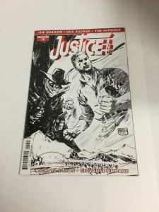 Justice Inc 3 Variant Nm Near Mint Dynamite Comics