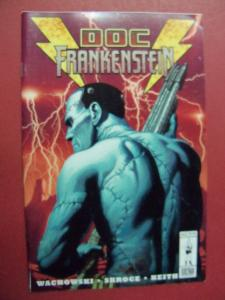DOC FRANKENSTEIN #2  (VF/NM 9.0 OR BETTER) BURLYMAN ENTERTAINMENT