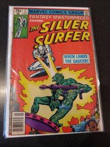 Fantasy Masterpieces #2 1980  Silver Surfer FINE