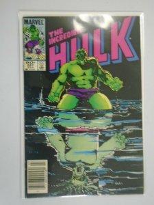 Incredible Hulk #297 Newsstand edition 4.0 VG (1984 1st Series)
