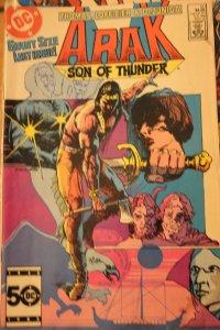Arak Son of Thunder 50