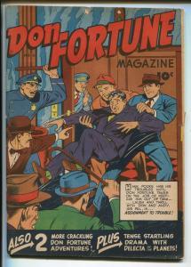 Don Fortune #6 1947-Fawcett-mystery-crime-adventure-VG