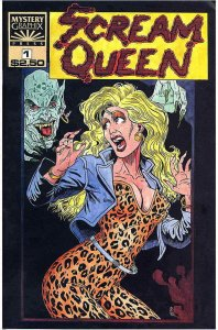 Scream Queen (Mystery Graphix) #1 VF/NM; Mystery | save on shipping - details in