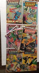 Justice League Of America JLA 25 26 27 28 29 30 31 32 36 37 2.5-4.5 Gd+ / Vg+