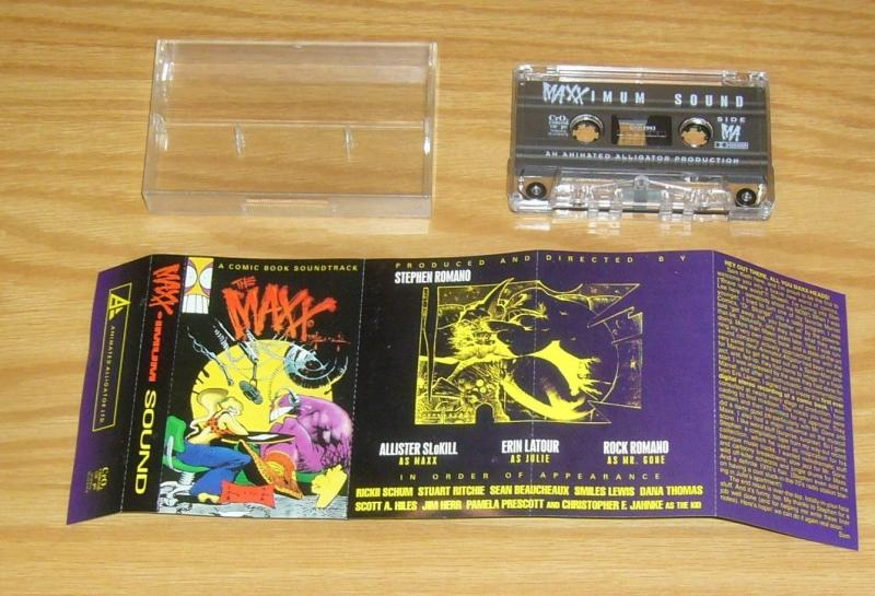 MAXX-imum Sound VF/NM comic book soundtrack - sam kieth