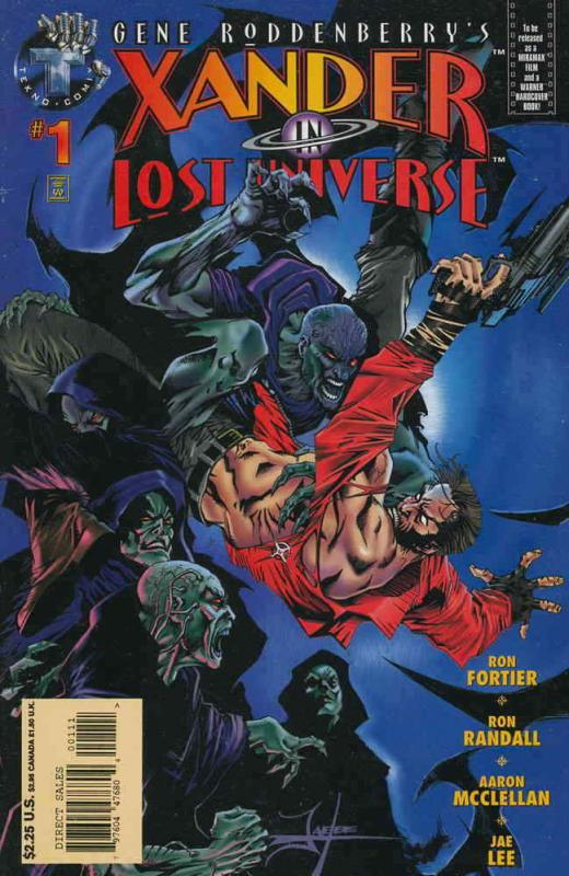 Xander in Lost Universe (Gene Roddenberry's…) #1 VF/NM; Tekno | save on shipping