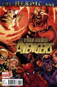New Avengers (2nd Series) #1 (2nd) VF/NM; Marvel   save on shipping - details in