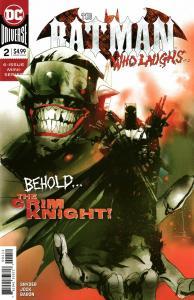 Batman Who Laughs #2 Final Printing Variant (DC, 2019) NM