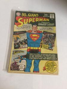 Superman 183 Back Cover Missing Coverless DC Comics Silver Age